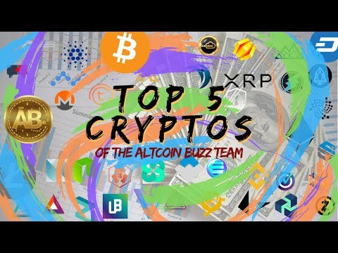Top 5 Cryptocurrencies in 2019 from The Altcoin Buzz Team