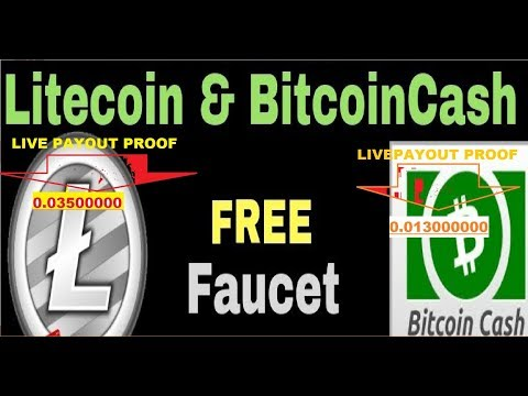 HOW TO EARN FREE BITCOIN CASH LITECOIN TOP HIGH PAYING SITE HOURLY