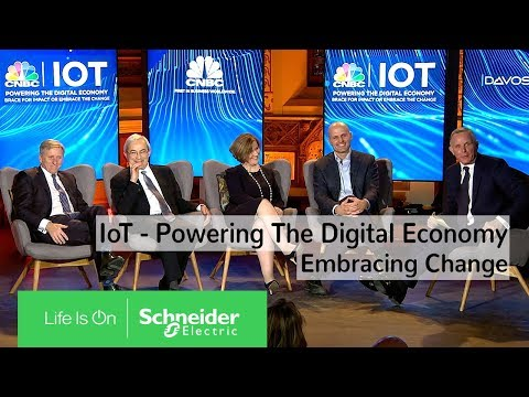 IoT Powering the Digital Economy – CNBC Panel at the Davos World Economic Forum | Schneider Electric
