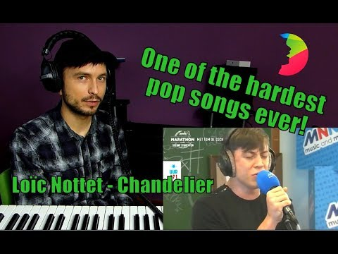 Vocal coach YAZIK recats to Loïc Nottet – Chandelier Sia (Cover) LIVE