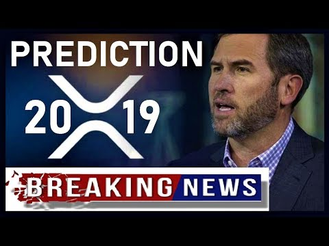 XRP BREAKING NEWS: Ripple CEO's Prediction About Banks 2019
