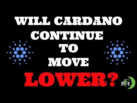 CARDANO ADA WILL CONTINUE LOWER – WHY?
