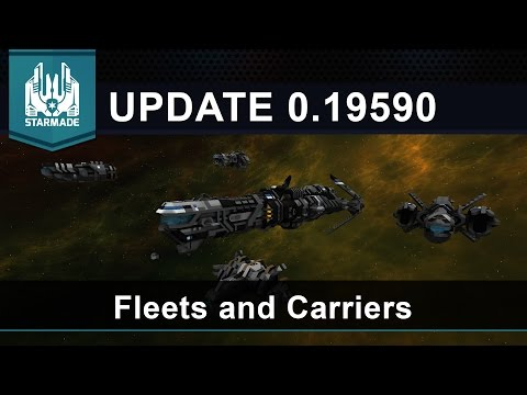 Fleets and Carriers! – Starmade Update 0.19590