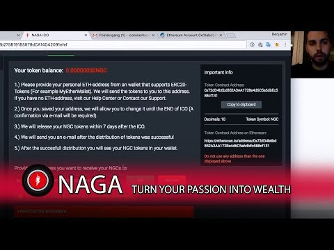 How to receive your Naga Coins to your Wallet