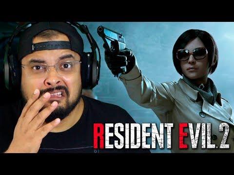 RESIDENT EVIL 2 Remake | Leon #4 – O PRIMEIRO BOSS e a ADA apareceu (Gameplay Português PT-BR)
