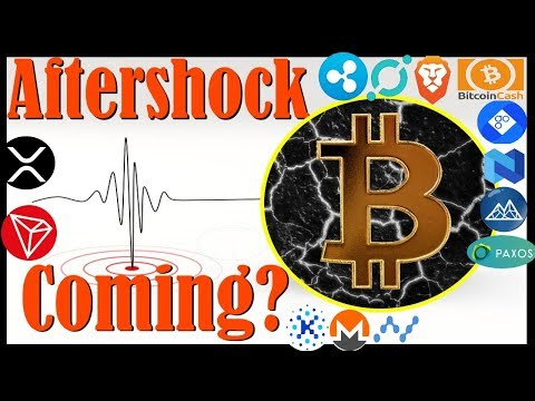 Aftershock Coming?🔸 $56m BTC MOVED!🔸XRP News🔸Watch Bitcoin Cash Fork LIVE!🔸 STABLECOIN DROPS 90%