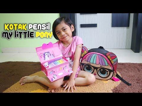 Kotak Pensil Karakter My Little Pony Ada Kunci Rahasianya