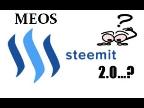 BREAKING NEWS: Block.one Creates MEOS Trademark | Could This Be Steemit 2.0?