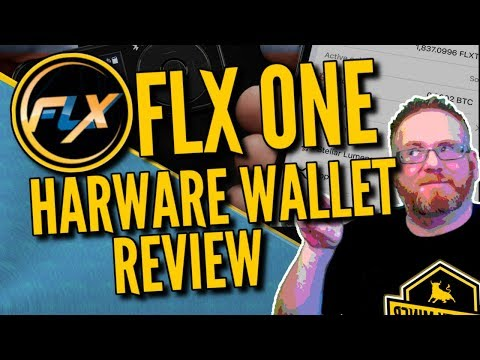 FLX One Cryptocurrency/Bitcoin Hardware Wallet Review – Giveaway!!!