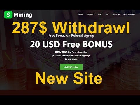 New High Paying Bitcoin Cloud Mining Site 2019 | 285$ Live Withdrawl