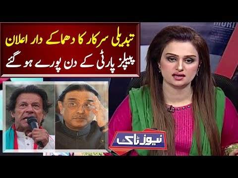 PTI VS PPP | Big Announcement Against PPP | News Talk | Neo News