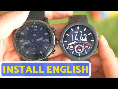 Flashing English ROM on Amazfit Verge, Stratos or Pace