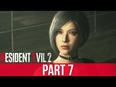 RESIDENT EVIL 2 REMAKE Gameplay Walkthrough Part 7 – ADA WONG (Full Game)