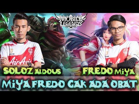 Miya Fredo Tak Ada Obat Bosskur !! Fredo Miya – Soloz Aldous !!   Mobile Legends
