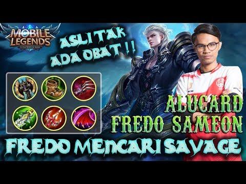 Fredo Alucard Mencari Savage !! Asli Tak Ada Obat Fredo Alucard Gameplay !!   Mobile Legends