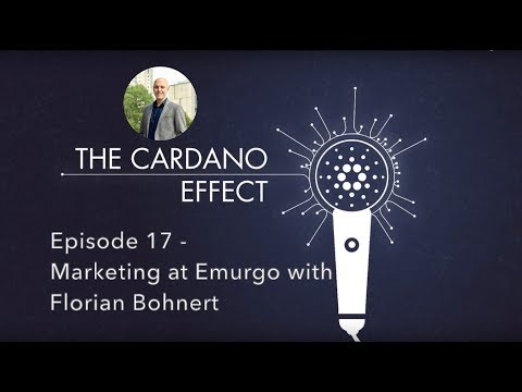 Emurgo Marketing with Chief Marketing Officer Florian Bohnert Episode 17