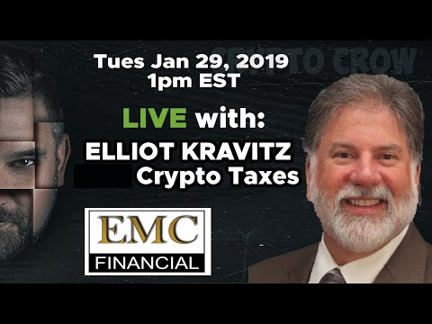 #CryptoTaxes with Elliot Kravitz – Ask Your Questions on Bitcoin Taxes, Crypto Gains Taxes