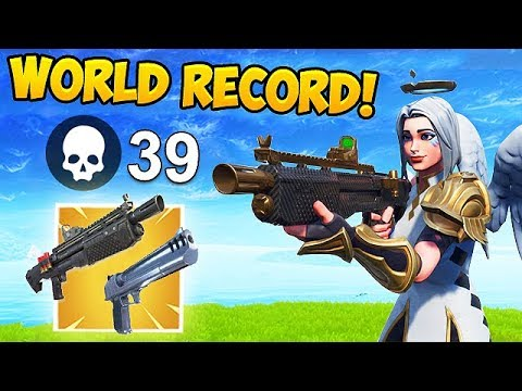 *WORLD RECORD* 39 KILLS IN ONE SHOT! – Fortnite Funny Fails and WTF Moments! #453