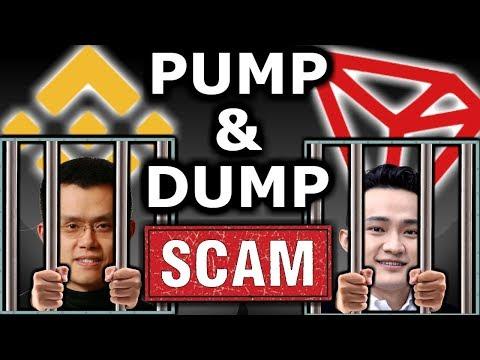 Binance+Tron=Pump & Dump. Jail Time? CZ and Justin Sun Scared. Bittorrent ICO Hustle