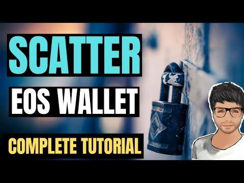 EOS Scatter Wallet Complete Tutorial – EOS DAPPS and DIVIDENDS – Hindi
