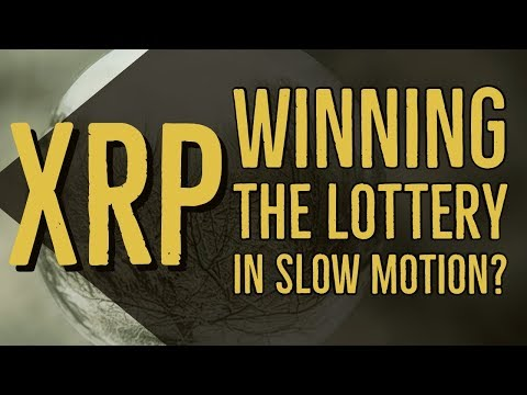 #XRP and Winning The Lottery In Slow Motion – How My Mindset About Cryptocurrency Changed