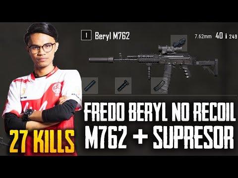 Fredo M762 + Suppressor Tak Ada Obat Bosskur !! Fredo Gameplay 27 Kills Total   PUBG Mobile Malaysia
