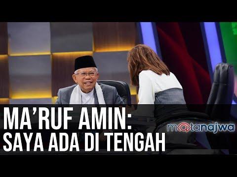 Politik Sarung Ma'ruf Amin: Ma'ruf Amin: Saya Ada di Tengah (Part 7) | Mata Najwa