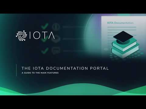 Introducing the IOTA Documentation Portal