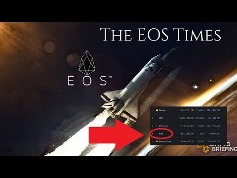 The EOS Times | EOS Surpasses Bitcoin Cash & Tether To Become The #4 Cryptocurrency