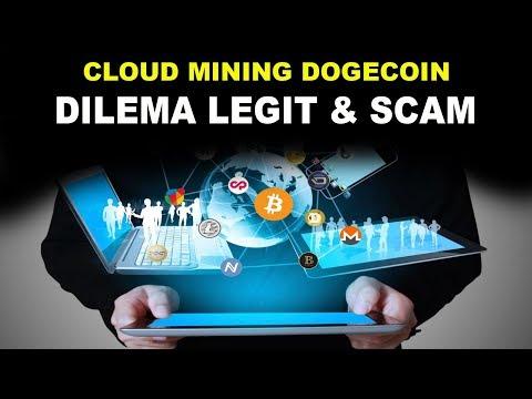 NEW CLOUD MINING DOGECOIN – DILEMA LEGIT DAN SCAM