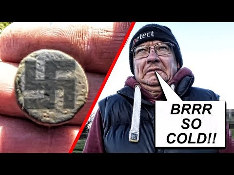 OMG! Roman Coin with a Swastika & Silver found Metal Detecting