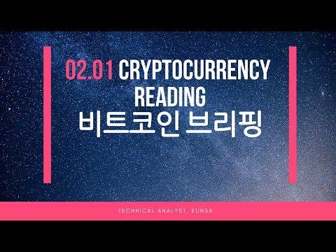 [02.01/비트코인] Cryptocurrency Reading / Bitcoin 시황브리핑
