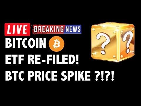 Bitcoin ETF Filed AGAIN! BTC Price to SPIKE?! – Crypto Market Trading Analysis & Cryptocurrency News