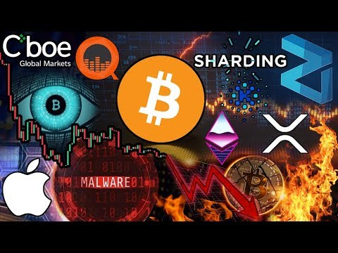 Bitcoin Headed Sub $3k Despite Good News?!? CAUTION: CookieMiner Malware! Zilliqa Sharding