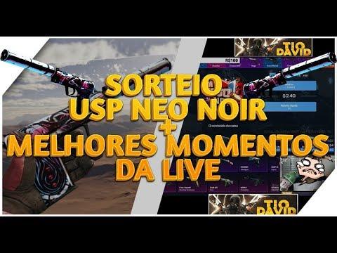 CSGO NET – SORTEIO USP-S   Neo-Noir – ABRINDO CAIXAS MELHORES MOMENTOS