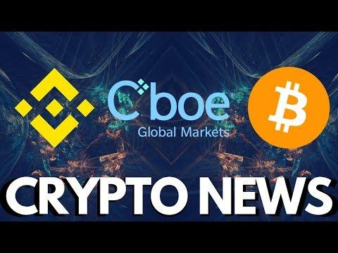 CBOE Bitcoin ETF re-filed, buy Cryptocurrency on Binance using VISA or MasterCard – Crypto News