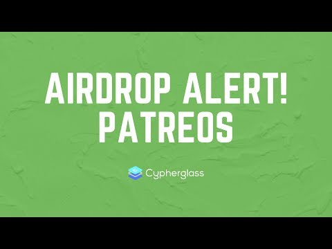 AIRDROP ALERT: Patreos (PATR Token on EOS)