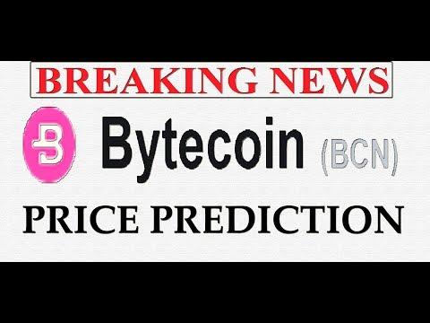BYTECOIN BCN PRICE PREDICTION | BYTECOIN BCN PRICE REVIEW  #BYTECOIN  #GAMESZCRYPTO  1 FEB 2019