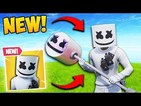 *NEW* MARSHMELLO SKIN IS INSANE! – Fortnite Funny Fails and WTF Moments! #457