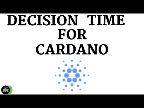 CARDANO (ADA) – DECISION TIME?  (CAN CARDANO HOLD SUPPORT?)