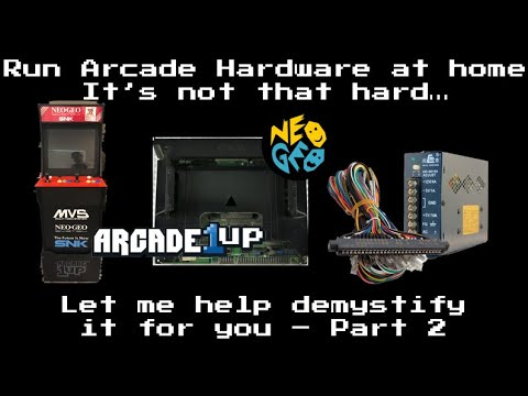 How to mod your Arcade1up into a Neo Geo Multicart system – Part 2