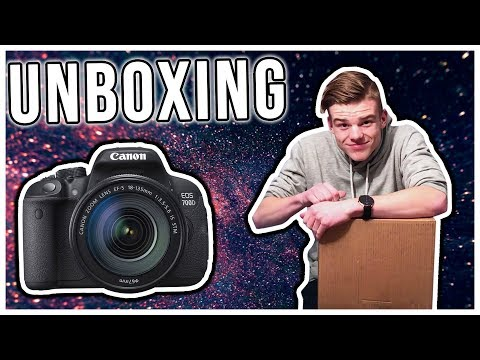Canon EOS 700D UNBOXING