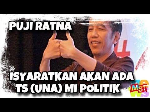 Sebut Ratna Jujur dan Berani, Jokowi Isyaratkan Akan Ada Ts (una) mi Politik