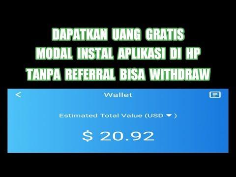 Uang Gratis Cuma Instal Aplikasi & GIVEAWAY 1500 DOGE