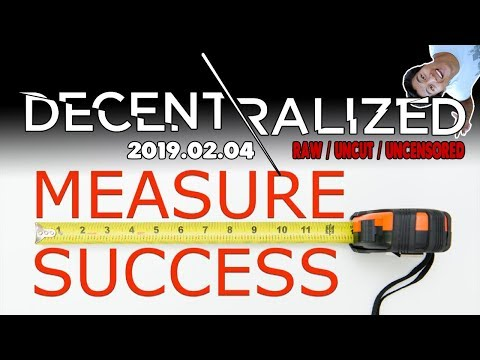 How Do You Measure Success in #Bitcoin #Cryptocurrency?