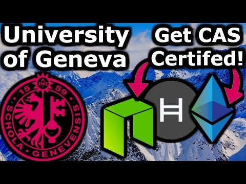 Exclusive 1st Look! Get Certified in ETH, NEO & Hashgraph. Earn University Credits (ECTS)