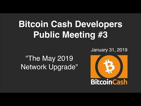 Bitcoin Cash Development video meeting #3 – January 31, 2019 – 23:00 UTC