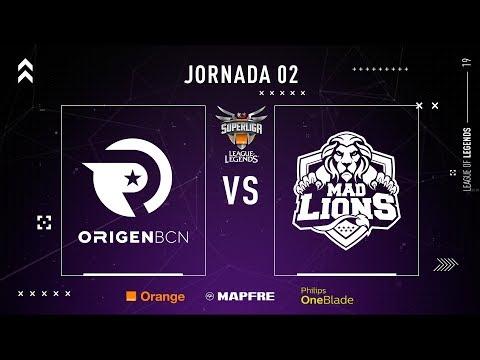 ORIGEN BCN VS MAD LIONS E.C. | Superliga Orange League of Legends | Jornada 02 | Temporada 2019