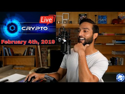 Cryptocurrency News LIVE – Bitcoin, Ethereum, & Much More Crypto News! (February 4th, 2019)