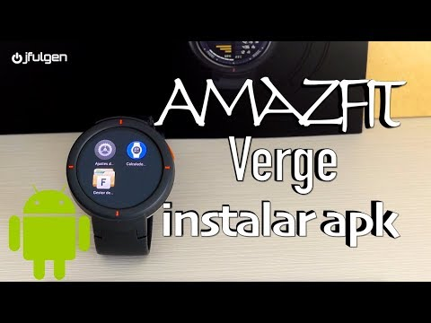 AmazFit Verge – Instalar Nuevas Aplicaciones